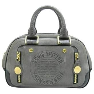 Louis Vuitton Grey Leather Handbags
