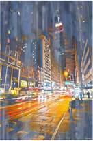 Parvez Taj City Lights Canvas Wall Art - Multiple Sizes Available
