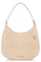 Brahmin Amira Leather Shoulder Bag - Beige