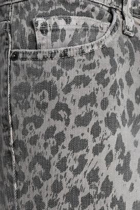 Current/Elliott Printed Mid-rise Skinny Jeans