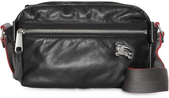 149186e9d843 Burberry Leather Messenger Bag - ShopStyle