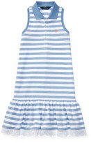 Polo Ralph Lauren Striped Sleeveless Polo Dress (8-14 Years)