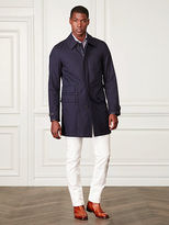 Ralph Lauren Darley Cotton Twill Car Coat