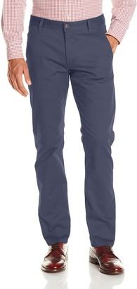 Dockers Alpha Khaki Stretch Slim Tapered Fit Flat Front Pant
