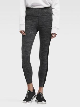 DKNY High-waist Legging With Criss Cross Panels