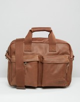 Eastpak Padded Pak'R Leather Laptop Bag