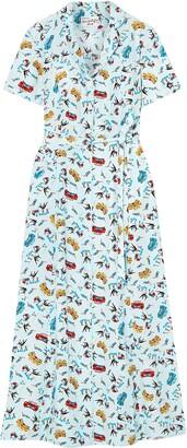 HVN 3/4 length dresses