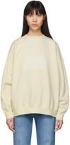 Maison Margiela Off-White Memory Of Label Sweatshirt