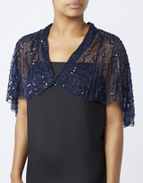 Accessorize Gatsby Embellished Cape