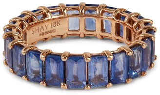 Shay Rose Gold Sapphire Eternity Ring