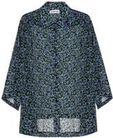 Balenciaga Printed silk shirt