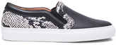 Givenchy Low Skate Elaphe Sneakers