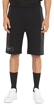 nANA jUDY Kobe Mixed-Media Fleece Shorts