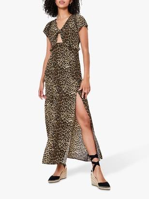 Oasis Animal Print Maxi Dress, Animal
