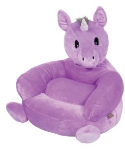 Trend Lab Children's Plush Unicorn Character Chair Bedding