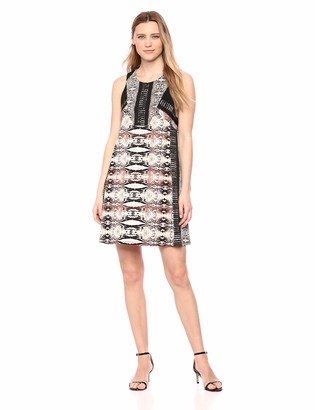 BCBGMAXAZRIA Azria Women's Ombre Print A-Line Dress