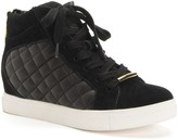 Juicy Couture Outlet - LIMONE QUILTED HIGH TOP SNEAKER