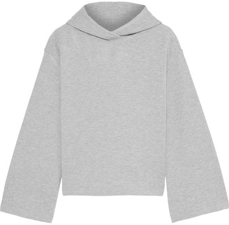 Enza Costa Melange French Terry Hoodie