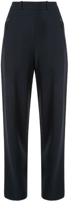 Hermes Pre-Owned zipped pockets tailored trousers