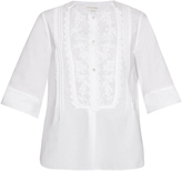 Etoile Isabel Marant Driss embroidered cotton top