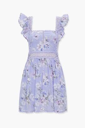 Forever 21 Floral Fit Flare Dress