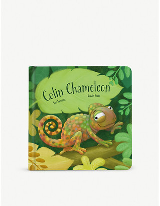 Jellycat Colin Chameleon story book