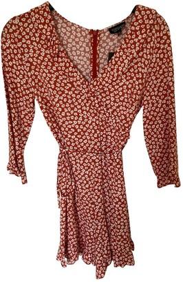 Topshop Tophop Boutique Orange Cotton Jumpsuit for Women