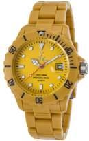 Toy Watch Toywatch Fl39dy Women's Fluo Tan Plasteramic And Dial Tan Plasteramic Watch