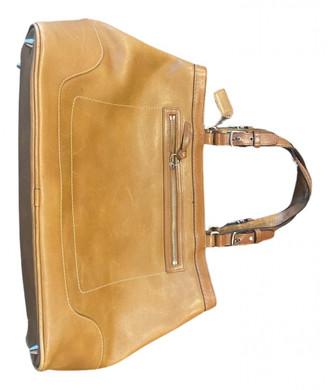 Coach Crossgrain Kitt Carry All Brown Leather Handbags