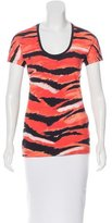 Just Cavalli Tiger Print Short Sleeve T-Shirt