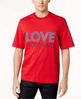 Love Moschino Men's Embroidered-Logo T-Shirt