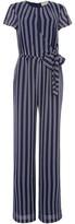 MICHAEL Michael Kors Striped short sleeve jumpsuit