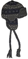Muk Luks Men's Sweater Vest Knit Trapper Hat