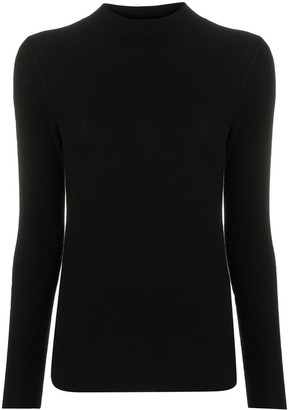 Stefano Mortari Knitted Mock-Neck Top