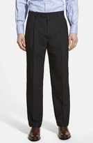 Linea Naturale Pleated Wool Dress Pants