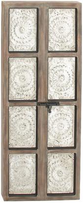 Uma Enterprises Wood & Metal Decorative Wall Panel