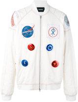 Sankuanz space motif bomber jacket