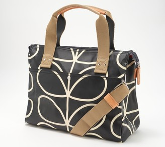 Orla Kiely Printed Coated Canvas Messenger - Watson