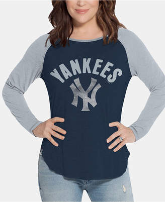 New York Yankees Touch by Alyssa Milano Women Long Sleeve Touch T-Shirt