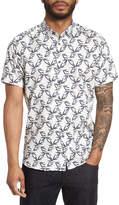 Ted Baker Lonpalm Print Sport Shirt