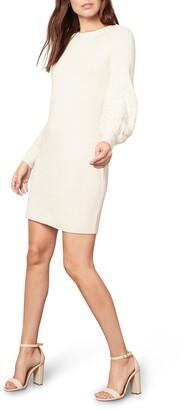 BB Dakota Seen Sweater Days Long Sleeve Minidress
