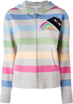 Marc Jacobs striped hooded cardigan - women - Cotton/Nylon/Viscose/Wool - XS