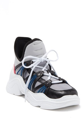 Schutz Anick Lace-Up Sneaker