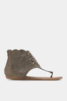 Ardene Laser Cut Sandals - Shoes |