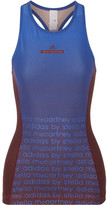 adidas by Stella McCartney Train Miracle Printed Climalite Stretch Tank - Bright blue