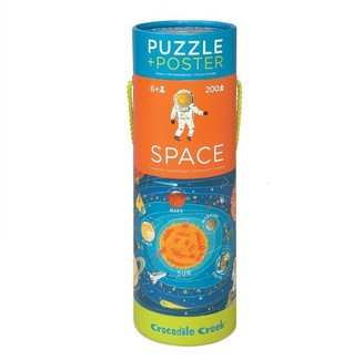 Crocodile Creek Poster Puzzle - Space