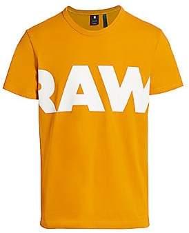 G Star Men's Raw Logo Graphic Tee