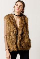 Azalea Faux Fur Vest