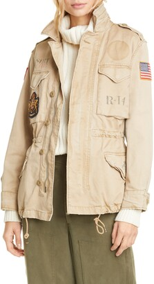 Polo Ralph Lauren Military Patch Jacket