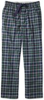Navy Check Cotton Pyjama Trousers Size Large By Charles Tyrwhitt